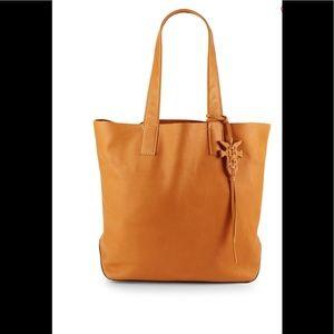 Frye Carson Sunrise leather tote bag Nwot